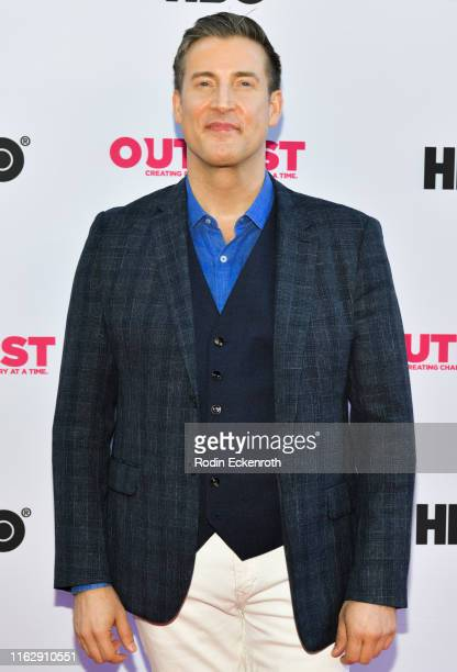 Executive Director Christopher Racster attends the Outfest Los Angeles LGBTQ Film Festival Opening Night Gala premiere of Circus Of Books at Orpheum...