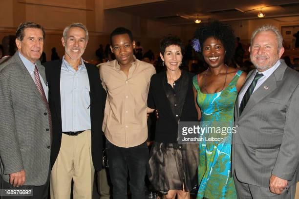 Executive director Donald Haber, producer Jeffrey Thal, actor Tyler James Williams, editor Sharyn L. Ross, BAFTA LA Board of Directors member Kara...
