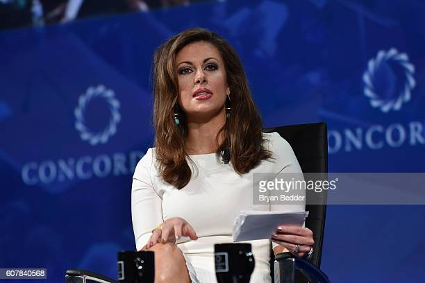 Executive Director EY Morgan Ortagus speaks on stage at 2016 Concordia Summit Day 1 at Grand Hyatt New York on September 19 2016 in New York City