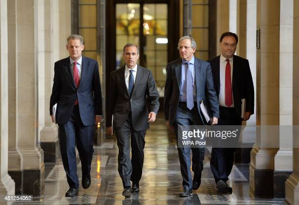 Executive Director for Financial Stability Strategy and Risk at the Bank of England Spencer Dale Governor of the Bank of England Mark Carney Deputy...