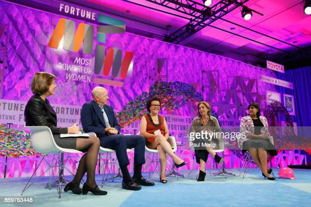 Executive Director Fortune MPW Summits and Live Content Pattie Sellers and Goldman Sachs President and CoCOO David Solomon speak onstage with Global...