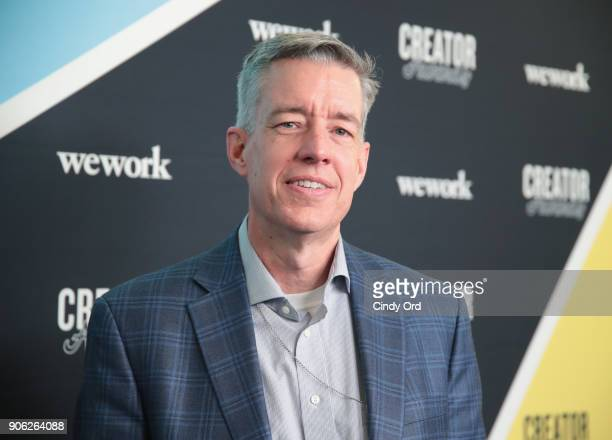 Executive Director Global Vision 20/20 Kevin White attends as WeWork presents Creator Awards Global Finals at the Theater At Madison Square Garden on...