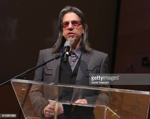 Executive Director GRAMMY Museum® Scott Goldman speaks on stage at the GRAMMY Museum®'s ninth annual GRAMMY In The Schools® Live A Celebration Of...