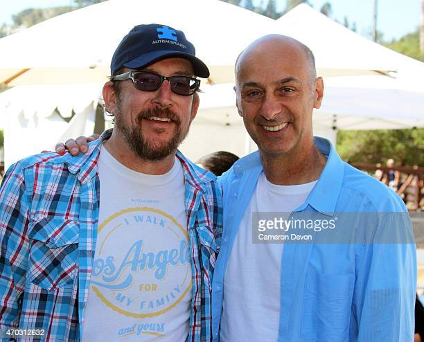 Executive Director Matt Asner and Actor David Marciano attend the 13th Annual Los Angeles Walk Now for Autism Speaks at Rose Bowl on April 18 2015 in...