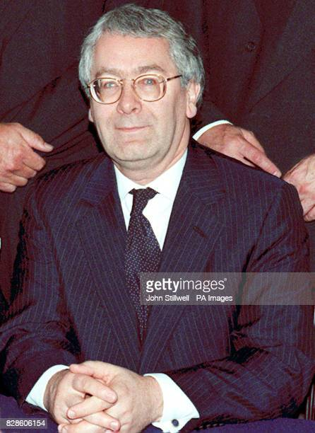 Executive Director Mervyn King during a photocall for the new Monetary Policy Committee at the Bank of England London 27/11/02 King the current...