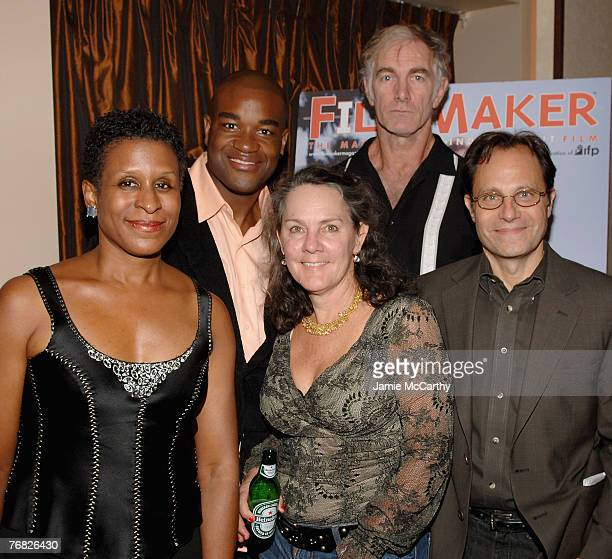 Executive Director Michelle Byrd, Actor Eric Lennox Abrams, Producer Maggie Renzi, Director John Sayles and Emerging Pictures CEO Ian Deutchman...