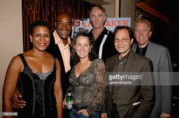 Executive Director Michelle Byrd, Actor Eric Lennox Abrams, Producer Maggie Renzi, Director John Sayles, Emerging Pictures CEO Ian Deutchman and...