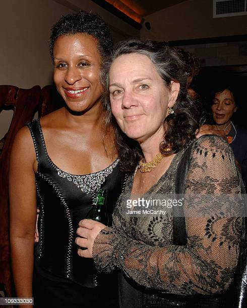 Executive Director Michelle Byrd and Producer Maggie Renzi attend IFP's Opening Night Party for Independent Film Week at Providence in New...