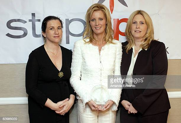 CAA Executive Director Michelle Kydd Lee Sandra Lee and Nancy Mendelson Gates pose backstage at the 2005 Step Up Women's Network Inspiration Awards...