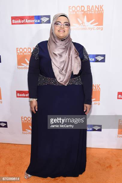 Executive director Muslim Women's Institute Sultana Ocasio attends the Food Bank for New York City CanDo Awards Dinner 2017 on April 19 2017 in New...