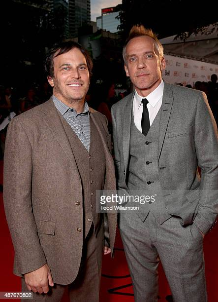 Executive Director Nathan Ross and Director JeanMarc Vallee attend Fox Searchlight's 'Demolition' Toronto International Film Festival gala...