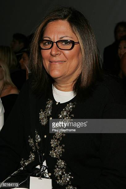Executive Director of 7th on Sixth and Vice President of IMG Fern Mallis attends the Lela Rose Fall 2005 show during Olympus Fashion Week February 9...