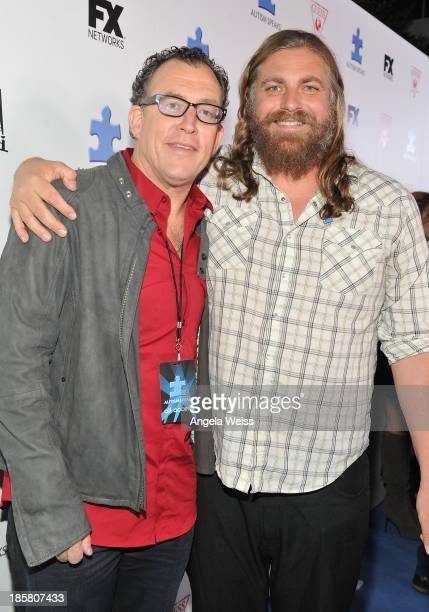 Executive director of Autism Speaks Mathew Asner and musician The White Buffalo aka Jake Smith attend Autism Speaks' 3rd Annual 'Blue Jean Ball'...