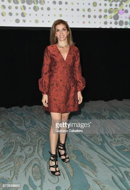 Executive Director of Billboard Leila Cobo attends the Billboard Latin Conference 2017 at Ritz Carlton South Beach on April 25 2017 in Miami Beach...