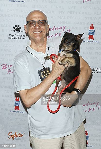 Executive director of Broadway Cares Tom Viola attends the Broadway Barks 17 at Shubert Alley on July 11 2015 in New York City