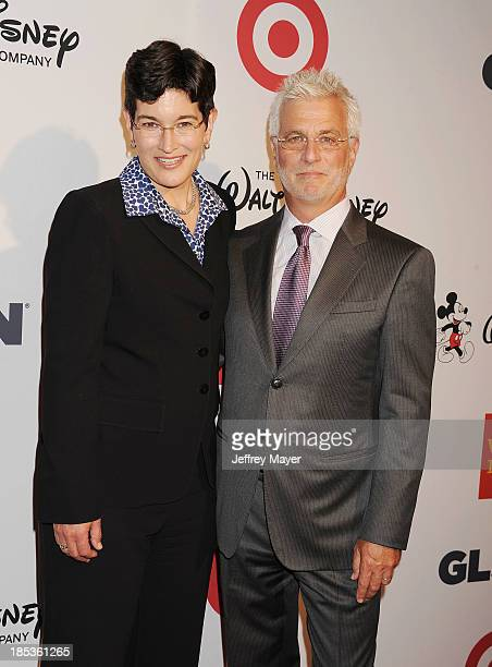 Executive Director of GLSEN Dr Eliza Byard and CoChairman of Lionsgate Motion Picture Group Rob Friedman attend the 9th Annual GLSEN Respect Awards...