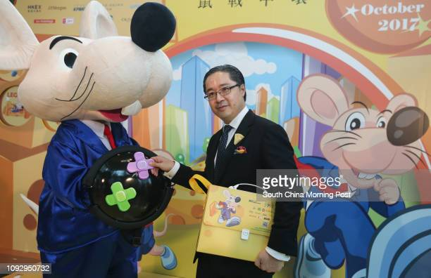 Executive Director of Hong Kong Land Raymond Chow Mingjoe at a press conference of the Rat Race 2017 at the Exchange Square in Central 13JUN17 SCMP /...