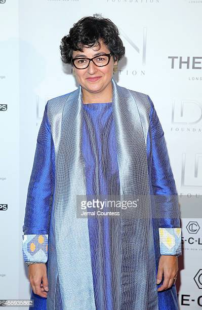 Executive Director of ITC Arancha Gonzalez attends Women Empowering Women Luncheon And Fashion Show At The UN For LDNY Festival Launch on September...