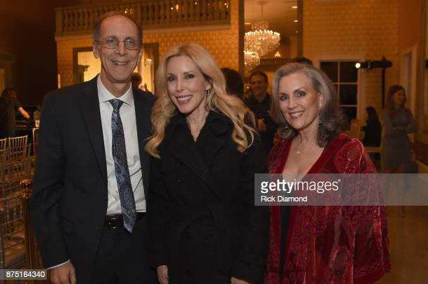 Executive Director of Music Memory Dan Cohen Kim Campbell and Susan Galeas attend ACM Lifting Lives featuring Little Big Town hosted and underwritten...