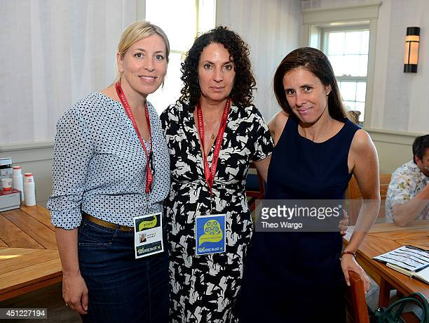 Executive Director of Nantucket Film Festival Mystelle Brabbee Nantucket Film Festival Founder Jill Burkhart and contributing editor of Hollywood...