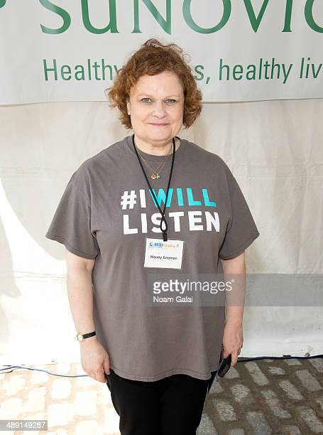 Executive Director of National Alliance on Mental Illness of New York City Wendy Brennan attends the 8th Annual NAMIWalks NYC Event at South Street...