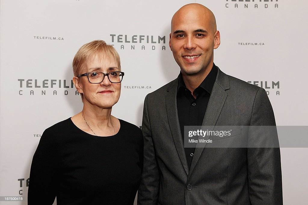 Executive director of Telefilm Carole Brabant (L) and director Kim Nguyen attend Tribeca Film and Telefilm Canada host a special screening for Kim Nguyen's WAR WITCH Official Entry for the 85th Academy Awards - Foreign Language on December 3, 2012 in Los Angeles, California.