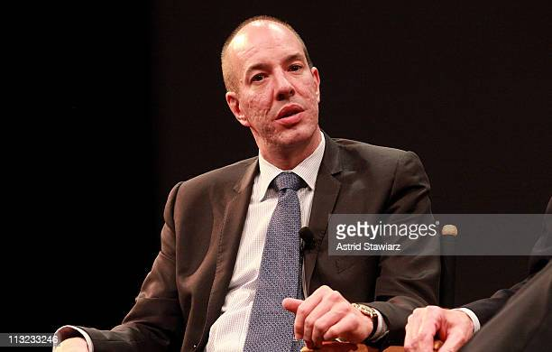Executive Director of the ACLU Anthony Romero speaks at Tribeca Talks After The Movie 'The Loving Story' during the 2011 Tribeca Film Festival at SVA...