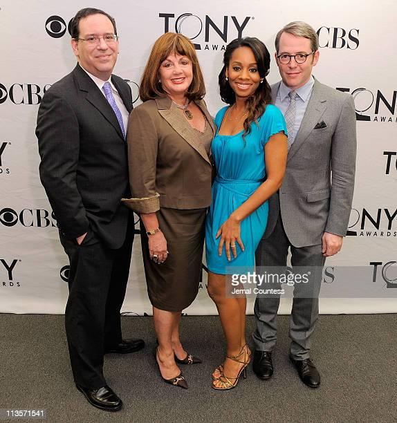Executive Director of the American Theatre Wing Howard Sherman Executive Director of the Broadway League Charlotte St Martin and actors Anika Noni...