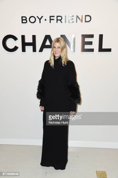 Executive Director of the Art Production Fund Casey Fremont attends as CHANEL celebrates the launch of the Coco Club a BoyFriend Watch event at The...