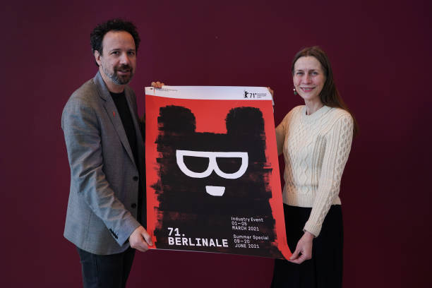 DEU: Berlinale Directors Mariette Rissenbeek And Carlo Chatrian Photocall