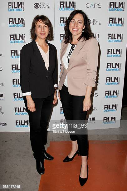 Executive Director of the California Film Commission Amy Lemisch and FLICS President and Film Commissioner Cassandra Hesseltine attend the 9th annual...