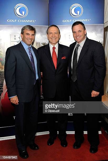 Executive director of the Golf Channel Original Productions Jay Kossoff President CEO of Premier Resorts Hotels Claudio Silvestri and Senior Director...