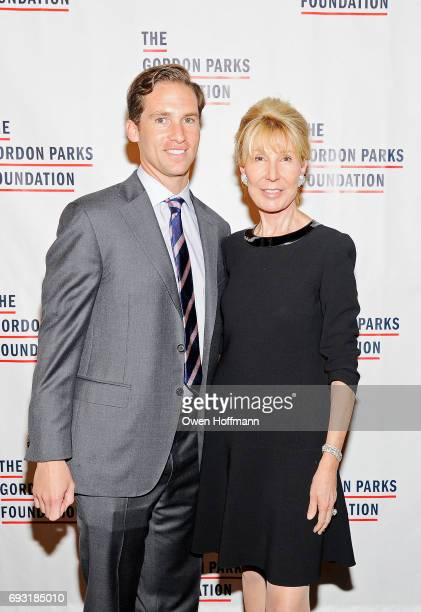 Executive Director of the Gordon Parks Foundation Peter Kunhardt Jr and Gordon Parks Foundation Boardmember Diana Revson attend the Gordon Parks...