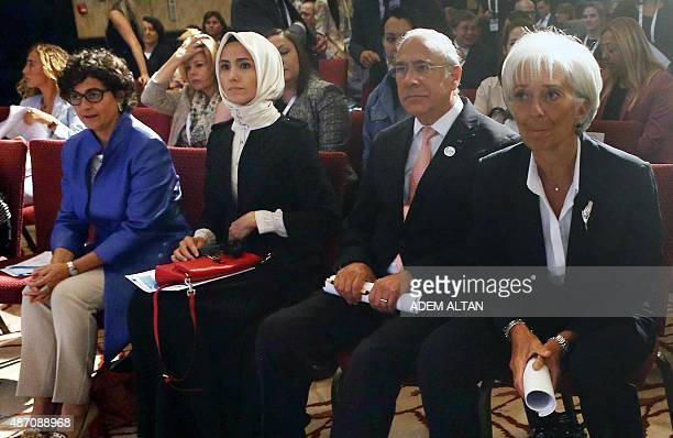 Executive Director of the International Trade Centre Arancha Gonzalez Women and Democracy Association Vice President Sumeyye Erdogan SecretaryGeneral...