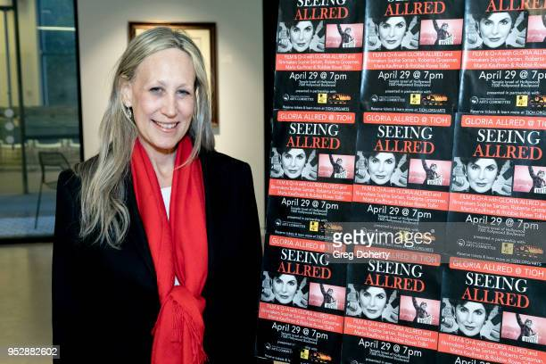Executive Director of the Los Angeles Jewish Film Festival Hilary Helstein attends the screening of 'Seeing Allred' at the 2018 Los Angeles Jewish...