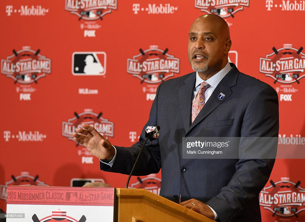 MLB All Star Media Availability : News Photo