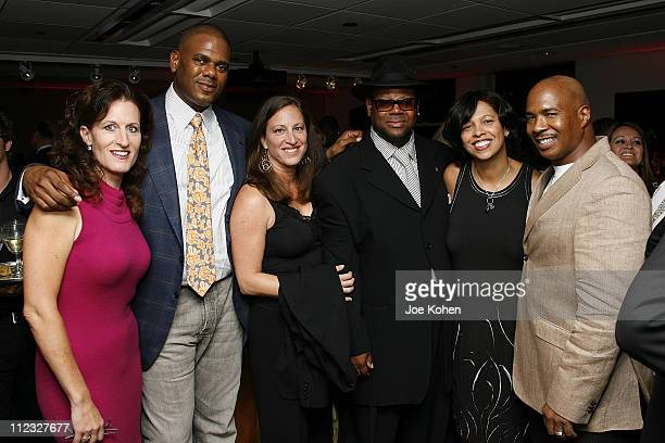 Executive Director of the New York Chapter Elizabeth Healy Big Jon Platt of EMI Lizzy Moore West Coast Regional Director of the Recording Academy...