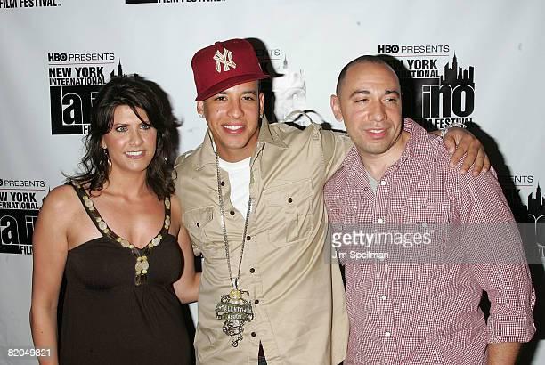Executive Director of the NYILFF Elizabeth Gardner Musician/Actor Daddy Yankee and Founder of the New York International Latino Film Festiva Galixto...