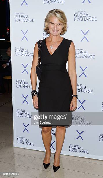 Executive director of the Pershing Square cancer research alliance Olivia Tournay Flatto attends the first annual Lincoln Center Global Exchange...