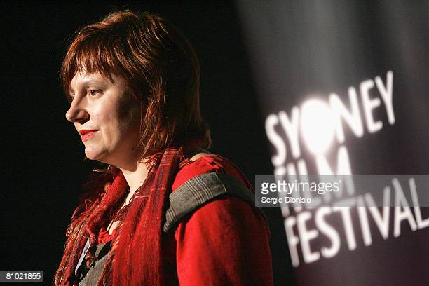 Executive Director of the Sydney Film Festival, Clare Stewart presents the 2008 program for the Sydney Film Festival at Customs House on May 8, 2008...