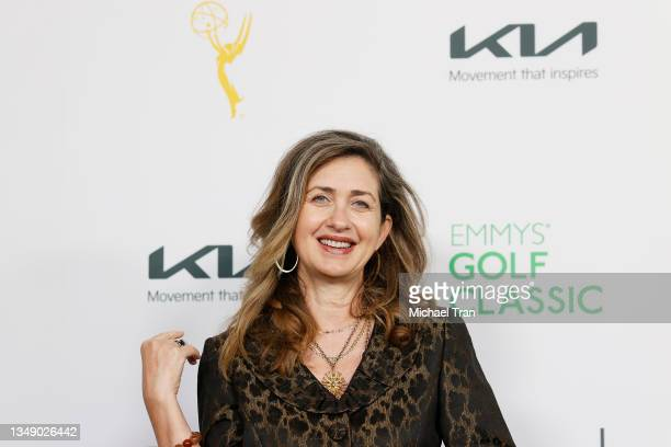 Executive Director of the Television Academy Foundation, Jodi Delaney attends the 21st Annual Emmys Golf Classic Tournament to benefit the Television...
