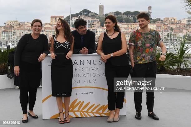 US Executive Director of the Telluride Film Festival and member of the Un Certain Regard jury Julie Huntsinger French actress and member of the Un...