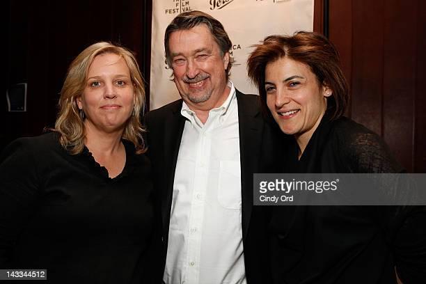 Executive Director of Tribeca Film Festival Nancy Schafer, Chief Creative Officer for Tribeca Enterprises Geoffrey Gilmore and Tribeca Film Festival...