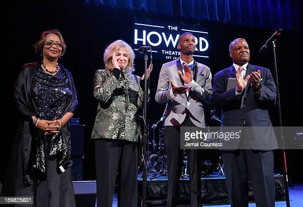 Executive Director of United Communities Against Poverty Gwen Ferguson Deborah Shore of Sasha Bruce Youthwork actor Jermaine Crawford and Prince...