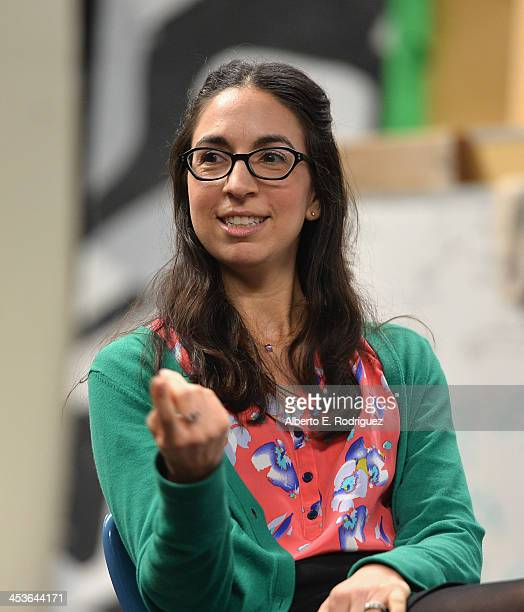 Executive Director Original Movies at Disney Channel Lauren Kisilevsky attends a BAFTA LA Master Class at Washington Prep High School on December 4...