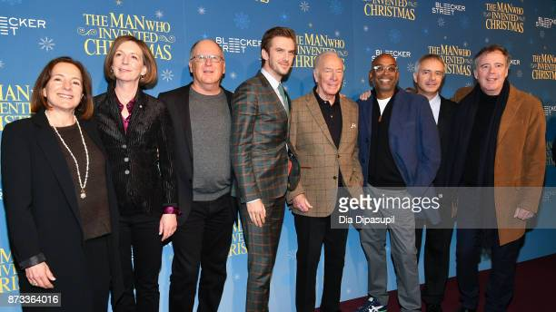 Executive director Paula Mazur screenwriter Susan Coyne producer Robert Mickelson Dan Stevens Christopher Plummer director Bharat Nalluri and...