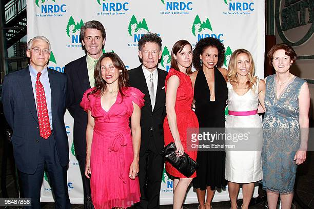 NRDC Executive director Peter Lehner Malkin Holdings President Tony Malkin artist Shelly Malkin singer/songwriter Lyle Lovett April Kimble actress...