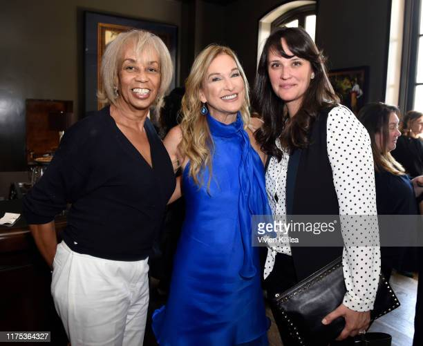 Executive Director RB/HipHop at Billboard Magazine Gail Mitchell President of The Recording Academy Deborah Dugan and Vice President Membership and...