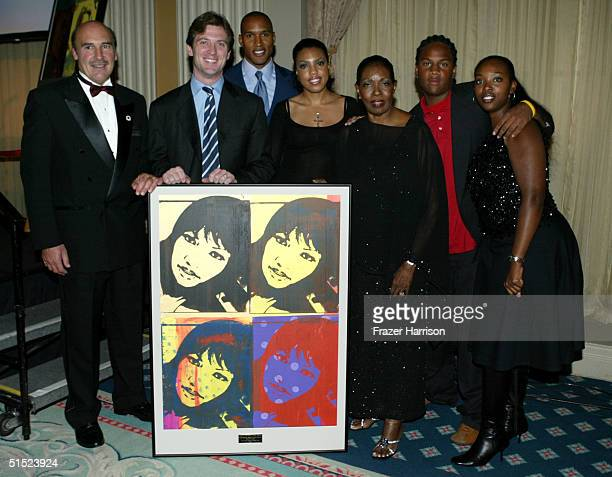 Executive Director Silvio John Orlando, Mike Nilon, actor Henry Simmons, Natasha DeSruisseaux, Marie Claire Beauvais, Oliver Saunders and Marie...
