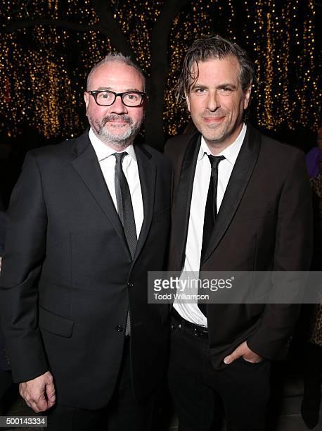 Executive Director Simon Kilmurry and director Brett Morgen attend the 2015 IDA Awards at Paramount Studios on December 5 2015 in Hollywood California